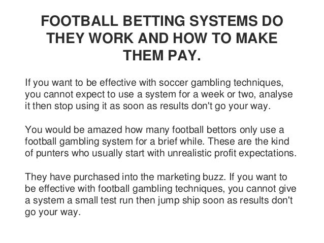 Football betting secrets pdf world championship of ping pong betting on sports
