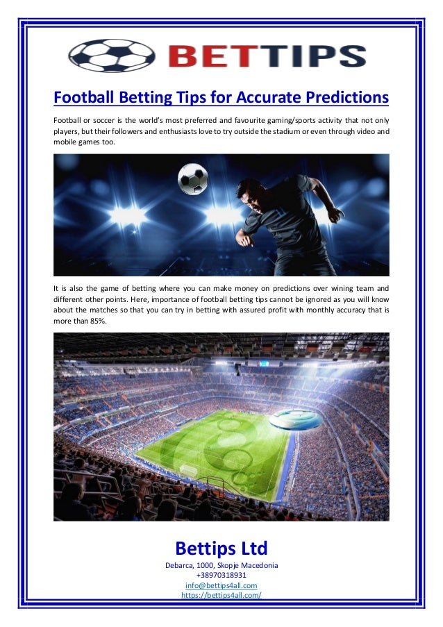 Football betting tips for accurate predictions