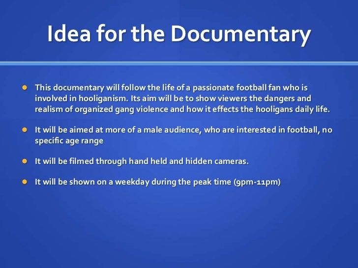 Football hooliganism presentation