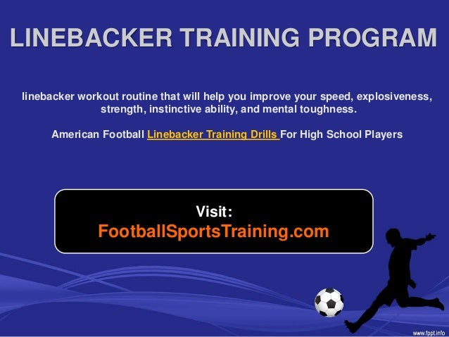 Football Linebacker Strength And Weight Training Program