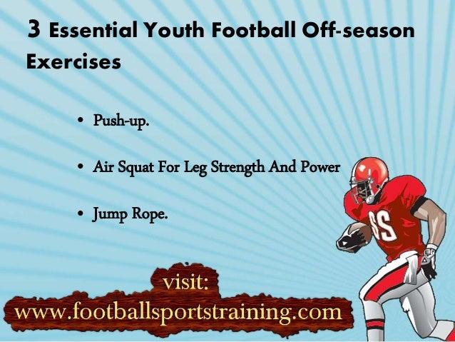 Footballl Off Season Weight And Strength Training Programs