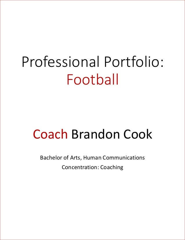 Football Portfolio