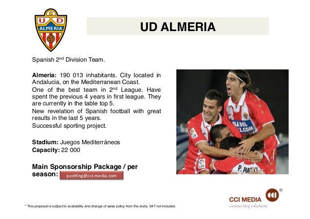 Football sponsorship offers in spain - Spanish second division league table ...