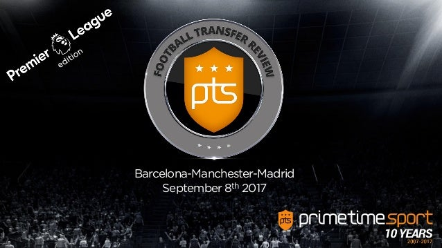 Barcelona-Manchester-Madrid September 8th 2017