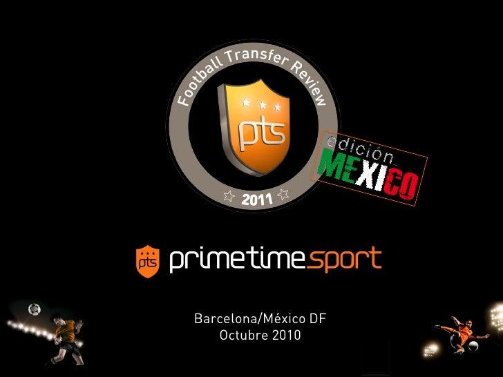 Barcelona/México DF    Octubre 2010                        1