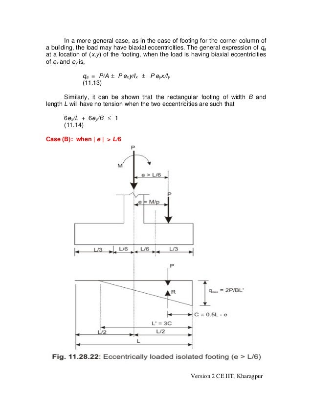 DESIGN OF ISOLATED FOOTING WITH BIAXIAL MOMENT PDF