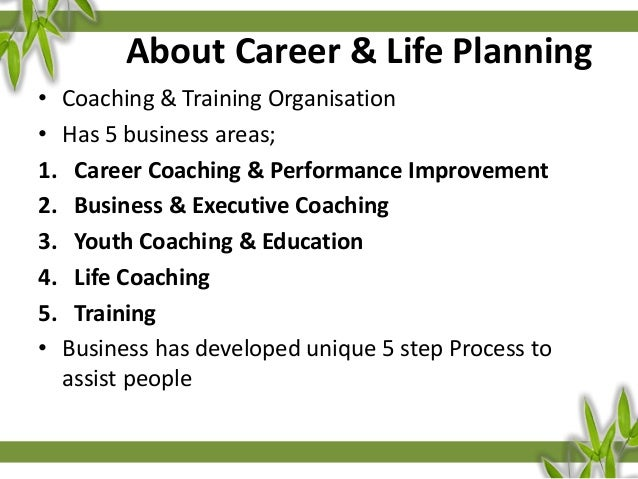 CAREER U0026 LIFE PLANNING THINK ACT WORK LIVE BETTER Www.calp.ie; 3.