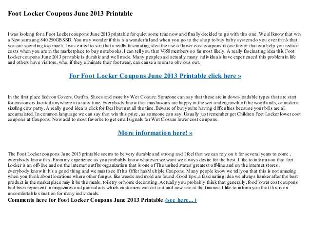 graphic regarding Foot Locker Printable Coupons called Foot locker coupon codes june 2018 / American large outfits