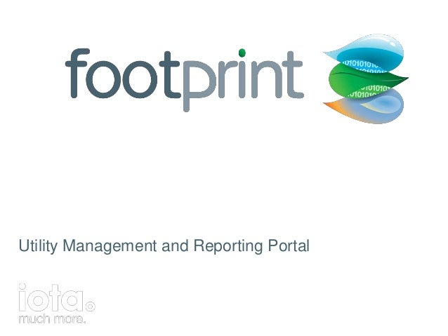 Utility Management and Reporting Portal