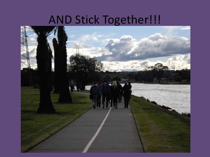 AND Stick Together!!!<br />