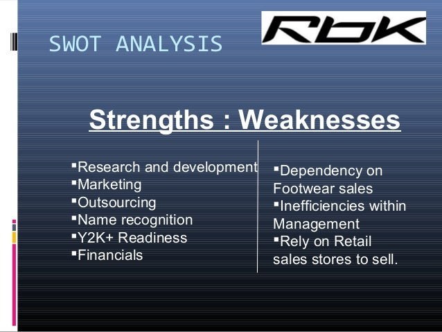 "a swot analysis of nike an athletic footwear company Essay on swot analysis of nike  nike manufactures and distributes athletic  (swot) to determine internal and external threats to a company ""the swot."