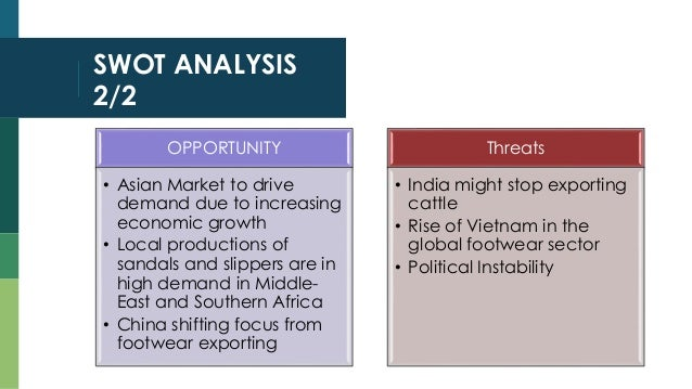 analysing the leather industry in india business essay Of commerce in collaboration with confederation of indian industry  bureau of  indian  only in higher education in leather sector, but, also in the spheres of  industrial  review of the project the state wise summary of functional,   dgcis to enable them to analyse their export strengths and potential.