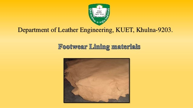 Department of Leather Engineering, KUET, Khulna-9203.