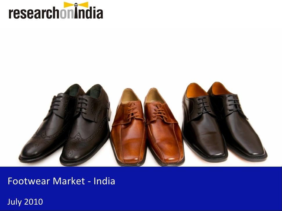 Footwear Market - India July 2010