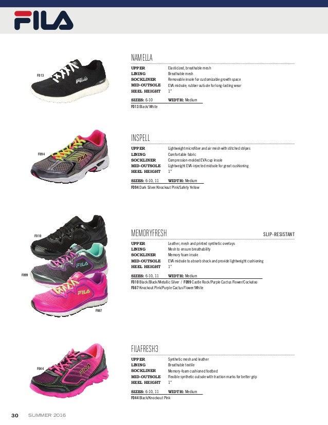 Footwear summer 2016 catalog
