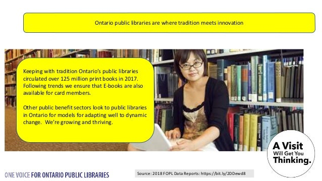 Most Ontario Public Libraries offer 3D printing but there's more – photo and video editing, woodworking, knitting, and a l...