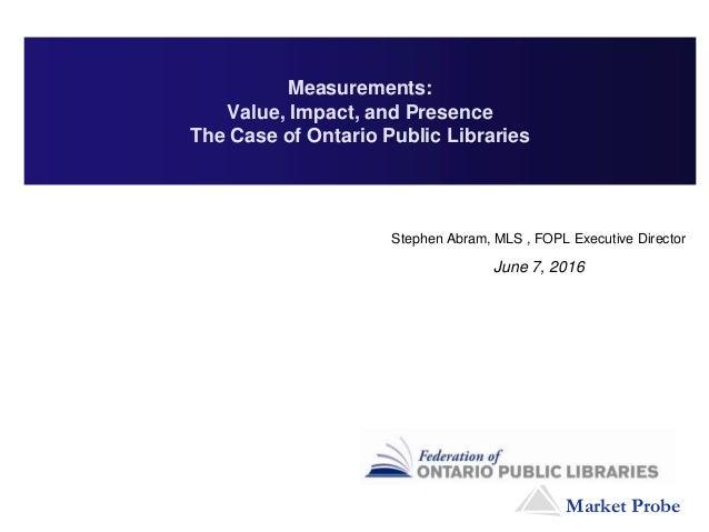 Fopl market probe poll final report 2015 05-08 - v1 - dl Slide 2