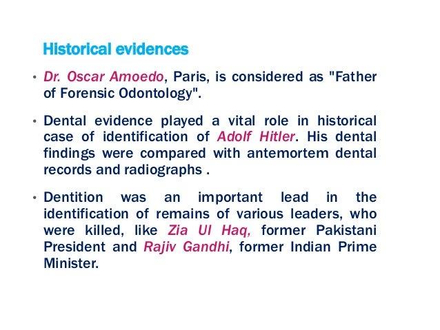 Forensic Odontology Ppt
