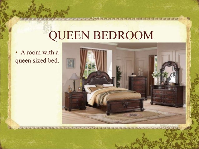 QUEEN BEDROOM U2022 A Room With A Queen Sized Bed.