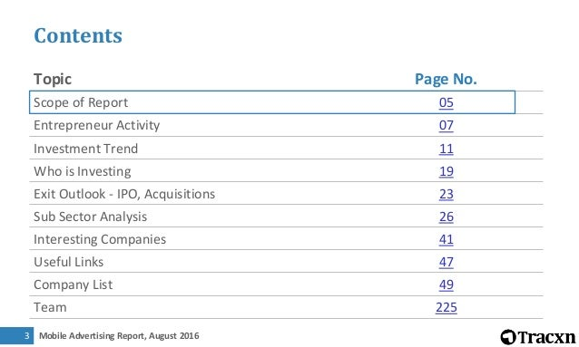 Mobile Advertising Report, August 20164 Illustrative Sectors We Track ENTERPRISE APPLICATIONS AD-TECH HR TECH MOBILE-FIRST...