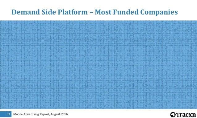 Mobile Advertising Report, August 201634 Analytics – Business Model Description