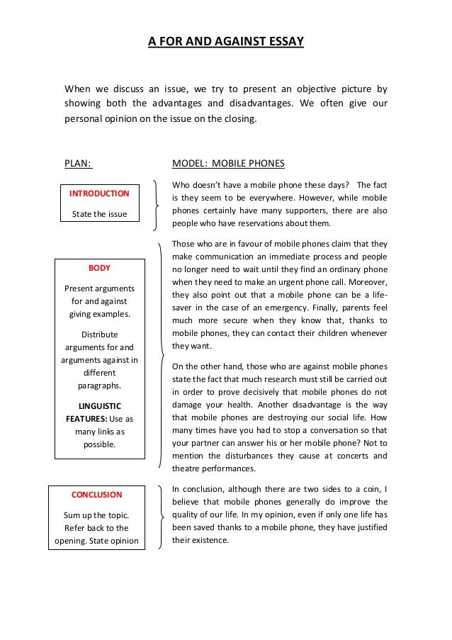 Mobile phones conclusion for essay