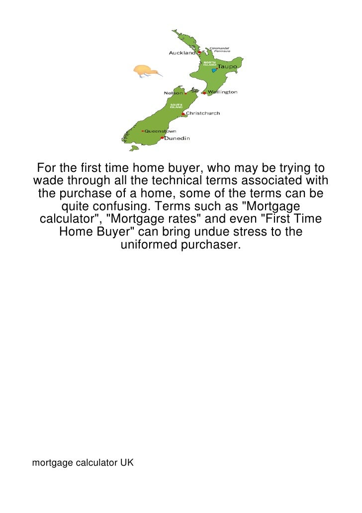 For the first time home buyer, who may be trying towade through all the technical terms associated with the purchase of a ...