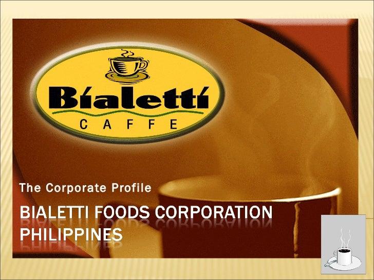 The Corporate Profile