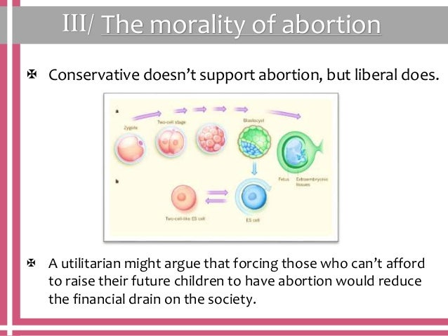 the abortion and the utilitarian view A kantian argument against abortion (received 14 december, 1984) if you asked ten years ago for my view on the morality of abortion, i would have said 'i don't have a view - the issue confuses me' but now i think that abortion is wrong and that certain kantian consistency requirements more or less force us into thinking this part.