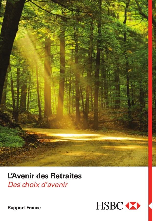 L'Avenir des Retraites Rapport France Des choix d'avenir