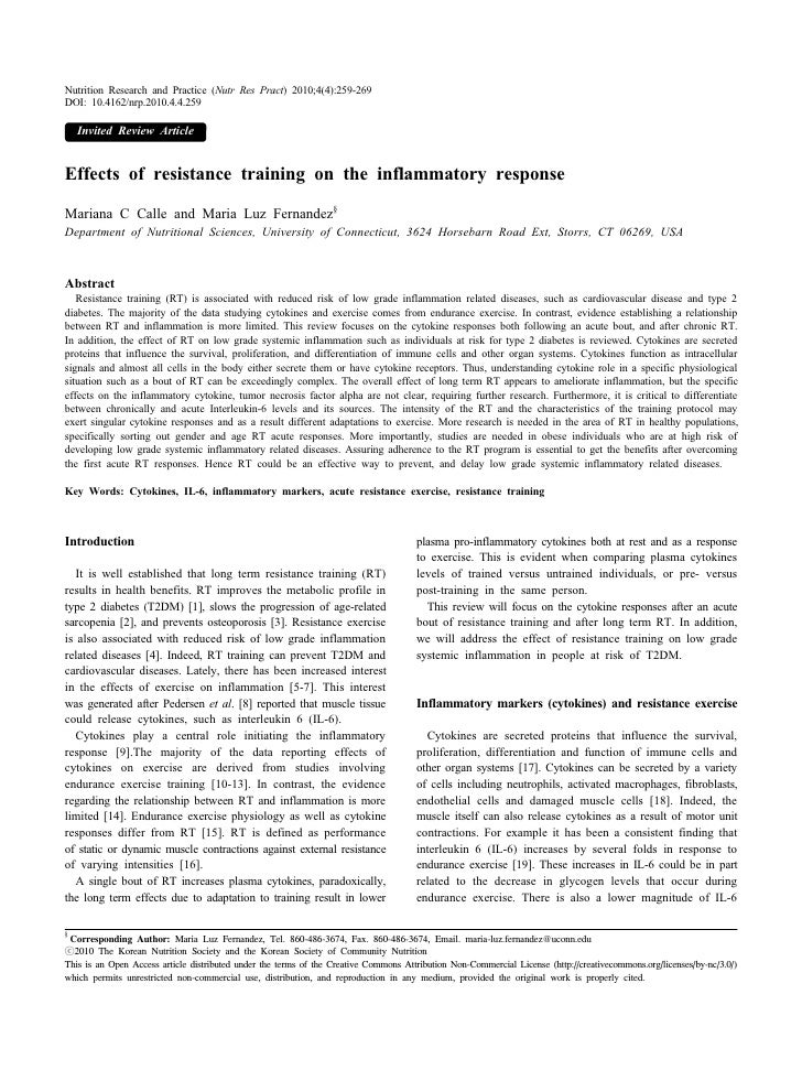 Nutrition Research and Practice (Nutr Res Pract) 2010;4(4):259-269DOI: 10.4162/nrp.2010.4.4.259    Invited Review ArticleE...