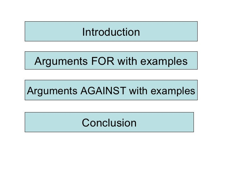 for or against essay topics