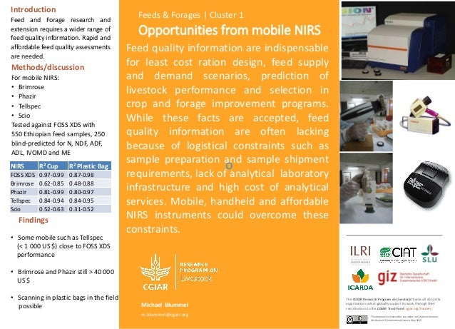 Opportunities from mobile NIRS