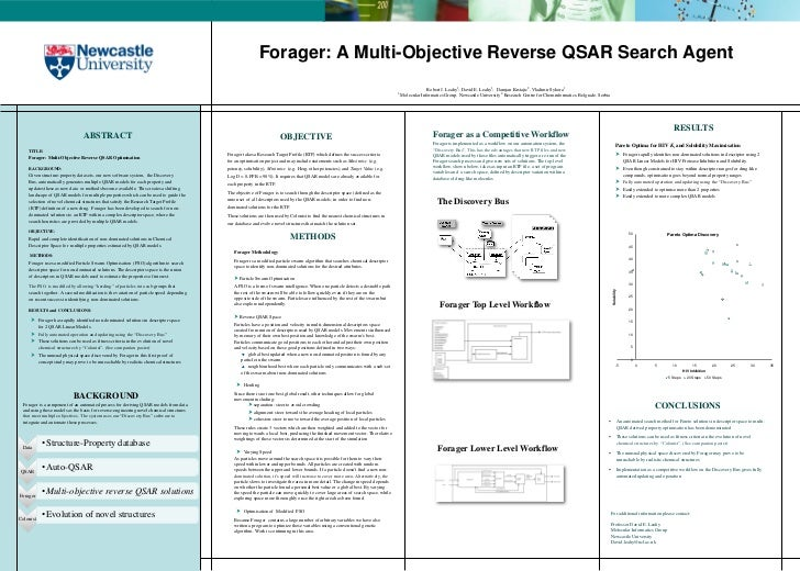 Forager: A Multi-Objective Reverse QSAR Search Agent                                                                      ...
