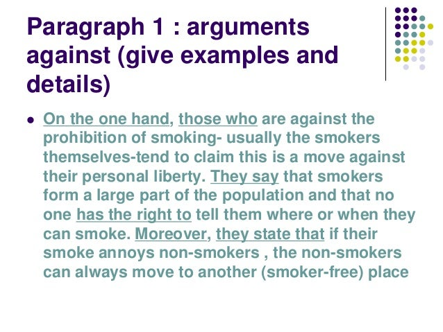 smoking should be prohibited in public places essay Argumentative essay smoking should be banned in public places essay on should smoking be banned in public placesmanish rajkoomar essay many surveys, studies and scientific research has proved that smoking is injurious to health.