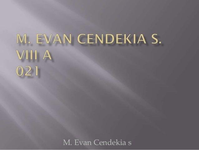 M. Evan Cendekia s