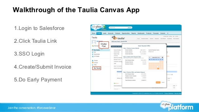 Intro To Forcecom Canvas Running External Apps Within The Salesforc - Salesforce invoicing app