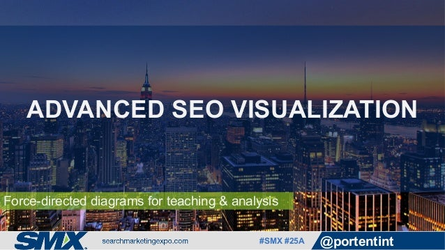 #SMX #25A @portentint Force-directed diagrams for teaching & analysis ADVANCED SEO VISUALIZATION