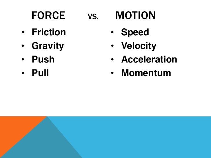 Force and Motion in Elementary Science