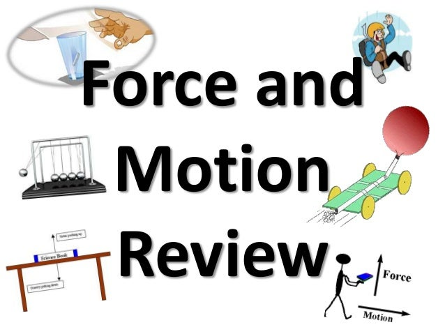 Force and Motion Review ppt