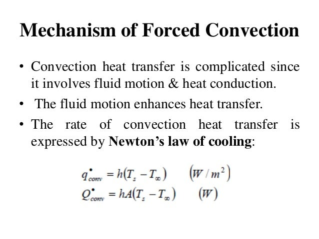 forced convection heat transfer This tutorial shows you how to simulate forced convection in a pipe using ansys fluent the simulation corresponds to the forced convection experiment in mae 4272 at cornell university the diagram shows a pipe with a heated section in the middle where constant heat flux is added at the wall the.