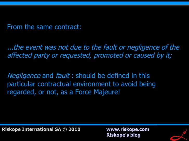 force majeure clauses and construction contracts Force majeure and construction contracts meaning generally - frustration and construction contracts - force majeure clauses in construction contracts.