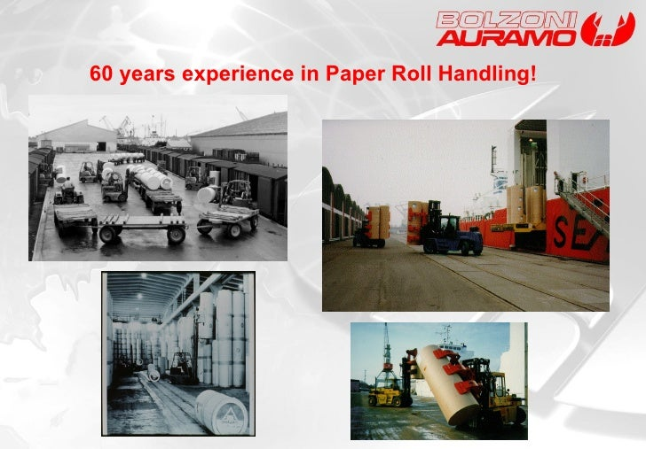 60  years experience  in Paper Roll Handling!