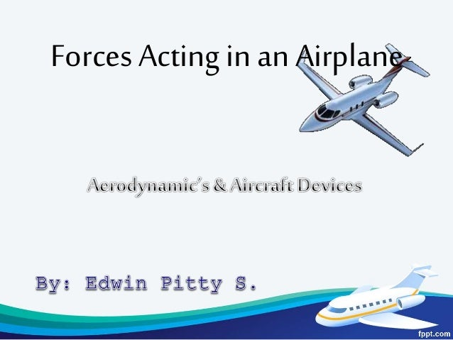 Forces Acting in an Airplane