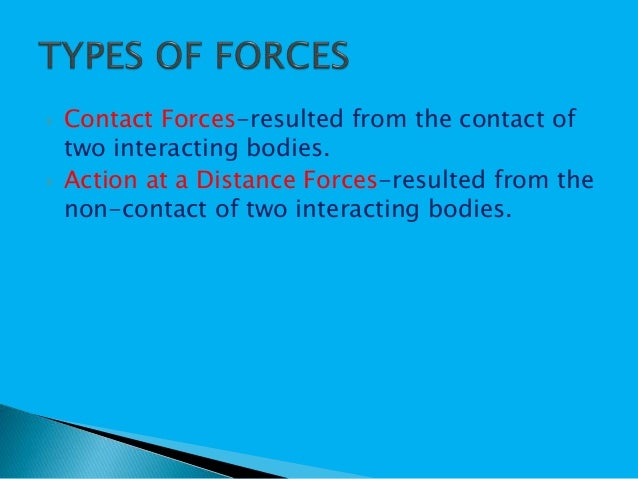 Forces and motion Slide 3