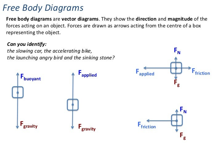 forces \u0026 changes in motion Lift Force Free Body Diagram