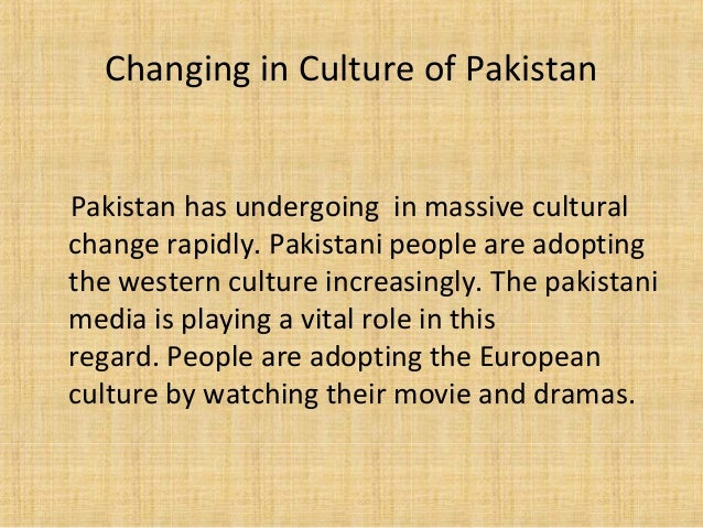 social change in pakistan