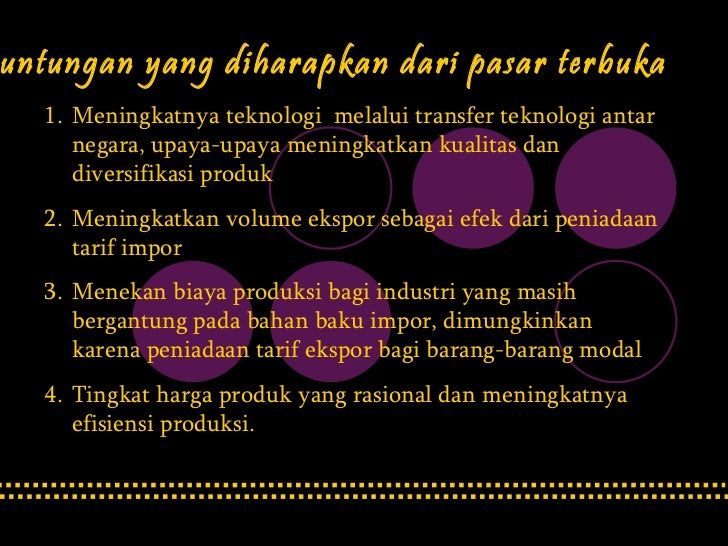 acfta indonesia trade Tion of the asean-china free trade agreement (acfta) in 2010 partic-  es for  indonesia's economic development in the medium term before dis- cussing.