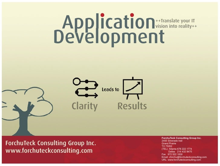 ++Translate your IT                                              vision into reality++                   Development      ...