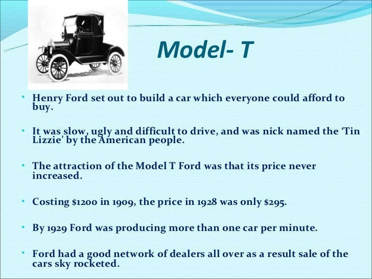 henry ford persuasive essay Free essay: famous for being one of the few people to greatly influence the twentieth century, henry ford was an innovator with a vision for the future with.